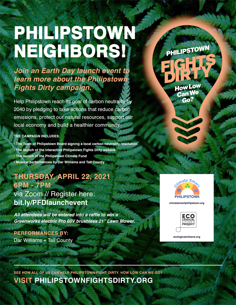 Earth Day Launch Event